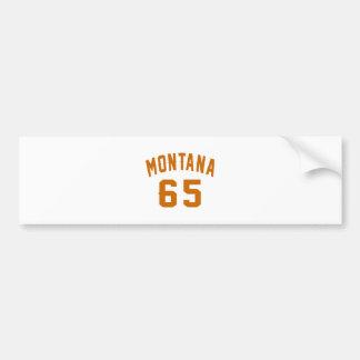 Pegatina Para Coche Montana 65 diseños del cumpleaños