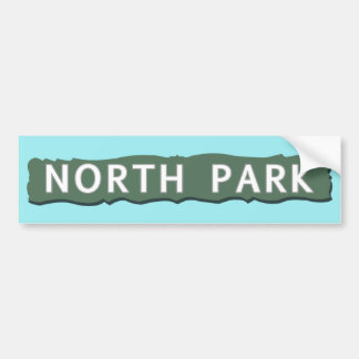 Pegatina Para Coche Muestra del norte del parque