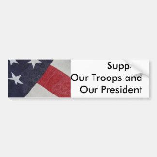 Pegatina Para Coche Muestre la ayuda para nuestra nación y la lucha en