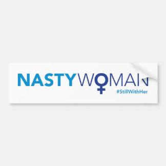 Pegatina Para Coche Mujer desagradable actualizada con el