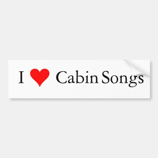 Pegatina Para Coche Música de Bluegrass: Canciones de la cabina I (del