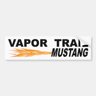 Pegatina Para Coche Mustango del rastro del vapor