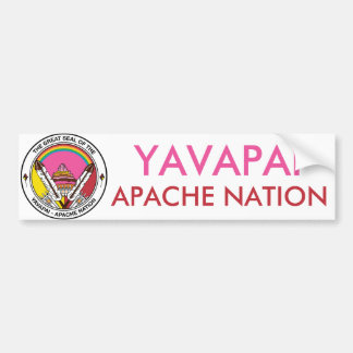 Pegatina Para Coche Nación de Yavapai Apache