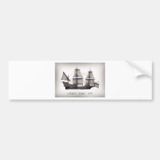 Pegatina Para Coche Nave de oro de 1578 Hinde