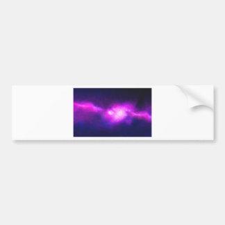 Pegatina Para Coche Nebulla abstracto con la nube cósmica galáctica 28