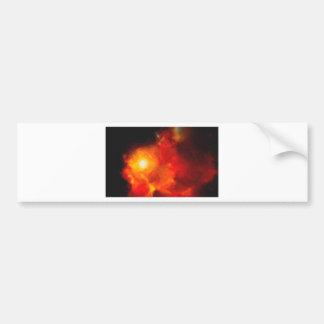 Pegatina Para Coche Nebulla abstracto con la nube cósmica galáctica 30