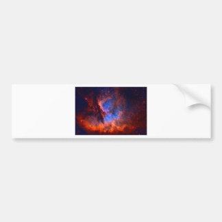 Pegatina Para Coche Nebulosa galáctica abstracta con la nube cósmica -