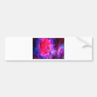 Pegatina Para Coche Nebulosa galáctica abstracta con la nube cósmica 6