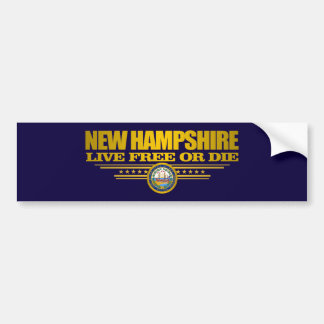Pegatina Para Coche New Hampshire (SP)