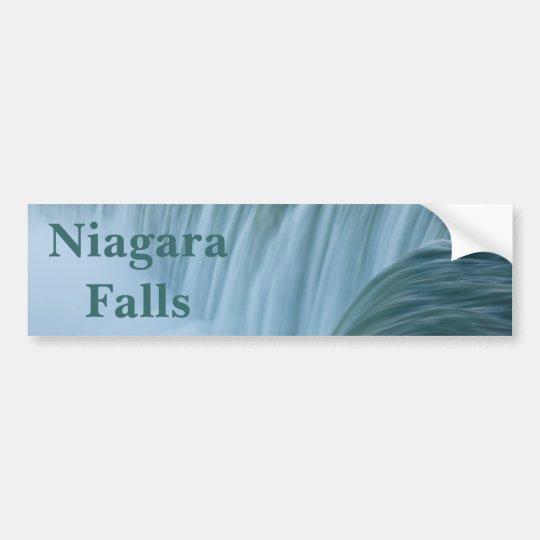 Pegatina Para Coche Niagara Falls con el texto