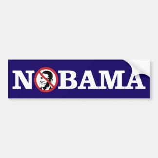 Pegatina Para Coche Ningún Obama Bumpersticker