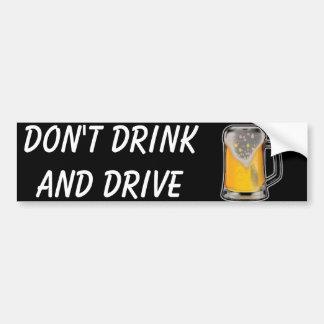 Pegatina Para Coche No beba y no conduzca
