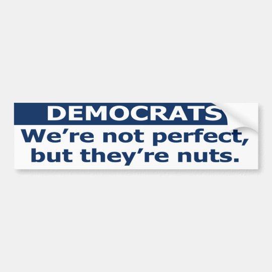 Pegatina Para Coche No somos perfectos, pero son nuts. sticke de