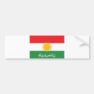 Pegatina Para Coche nombre árabe del texto del país de la bandera del