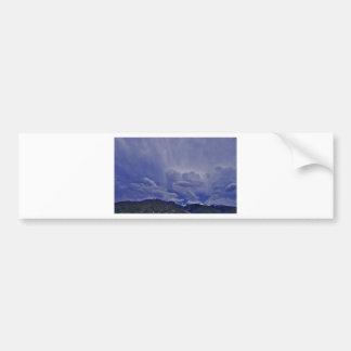 Pegatina Para Coche Nubes 1 del arrastramiento