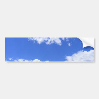Pegatina Para Coche Nubes del verano