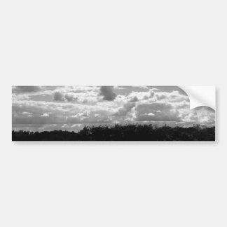Pegatina Para Coche Nubes sin fin