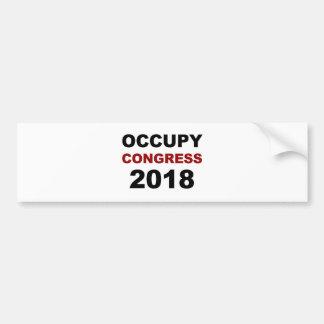 Pegatina Para Coche Ocupe al congreso 2018