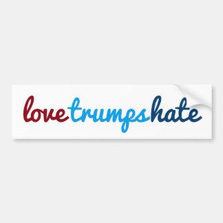 Pegatina Para Coche odio de los triunfos del amor