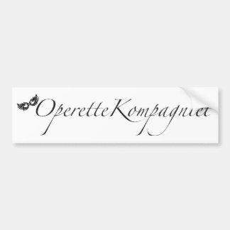 Pegatina Para Coche OperetteKompagniet Dinamarca