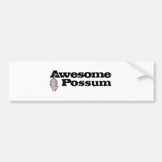 Pegatina Para Coche ¡Oposum impresionante!