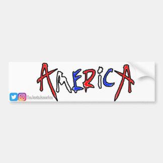 Pegatina Para Coche Orgullo americano