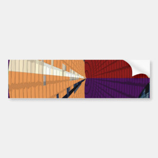 Pegatina Para Coche Oro y modelos púrpuras 12 de la pirámide del