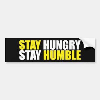 Pegatina Para Coche Palabras de motivación - la estancia hambrienta,