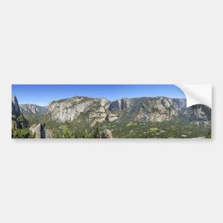 Pegatina Para Coche Panorama 3 del valle de Yosemite - Yosemite