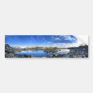 Pegatina Para Coche Panorama de la mañana del lago Marie - rastro de