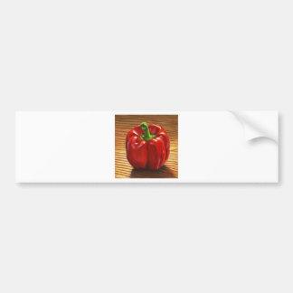Pegatina Para Coche Paprika Rojo