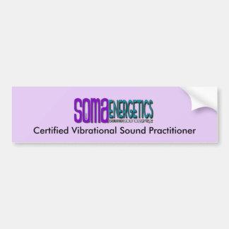 Pegatina Para Coche Parachoque certificado del médico del sonido de la