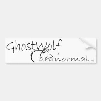 Pegatina Para Coche Parachoque de GhostWolf