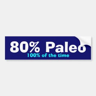 Pegatina Para Coche Parachoque del 80% Paleo