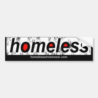 Pegatina Para Coche Parachoque sin hogar
