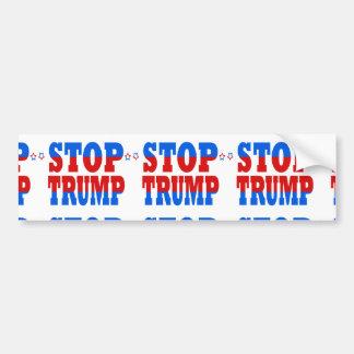 Pegatina Para Coche Pare la política republicana StopTrump del GOP del