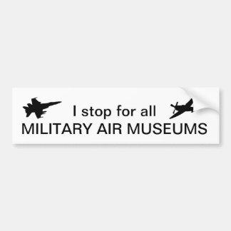 Pegatina Para Coche Paro para todos los museos militares del aire