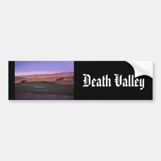 Pegatina Para Coche Parque nacional de Death Valley de la salida del