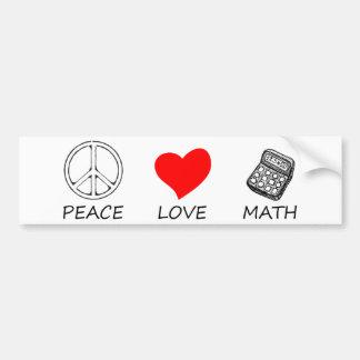 Pegatina Para Coche paz love5