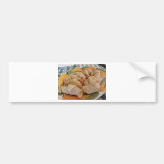 Pegatina Para Coche Pequeños croissants salados hechos en casa