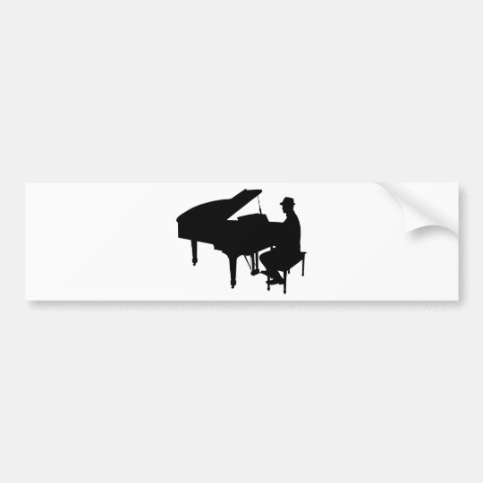 Pegatina Para Coche Piano Man