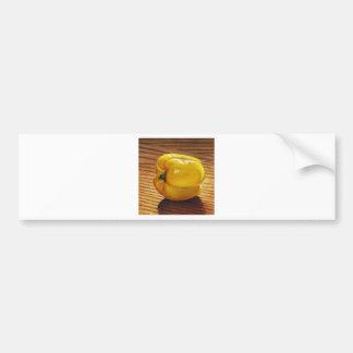 Pegatina Para Coche Pimienta amarilla