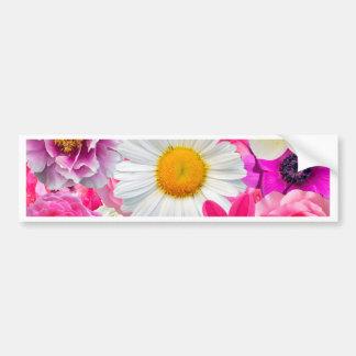Pegatina Para Coche Pink flowers_ Gloria Sanchez