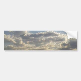 Pegatina Para Coche Porciones de nubes
