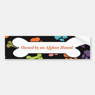 Pegatina Para Coche Poseído por el afgano o el otro mensaje