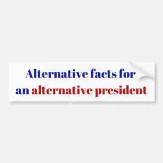 Pegatina Para Coche Presidente alternativo