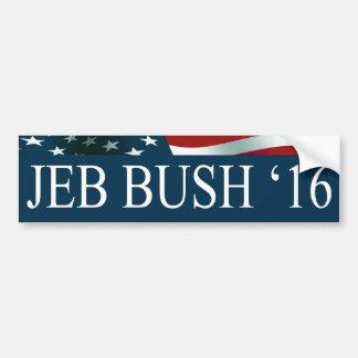 Pegatina Para Coche Presidente de Jeb Bush en 2016