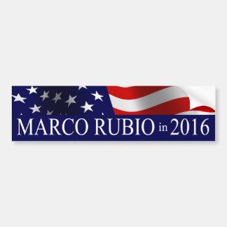 Pegatina Para Coche Presidente de Marco Rubio en 2016