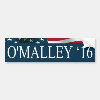 Pegatina Para Coche Presidente de Martin O'Malley en 2016