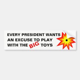 Pegatina Para Coche Presidentes y juguetes grandes